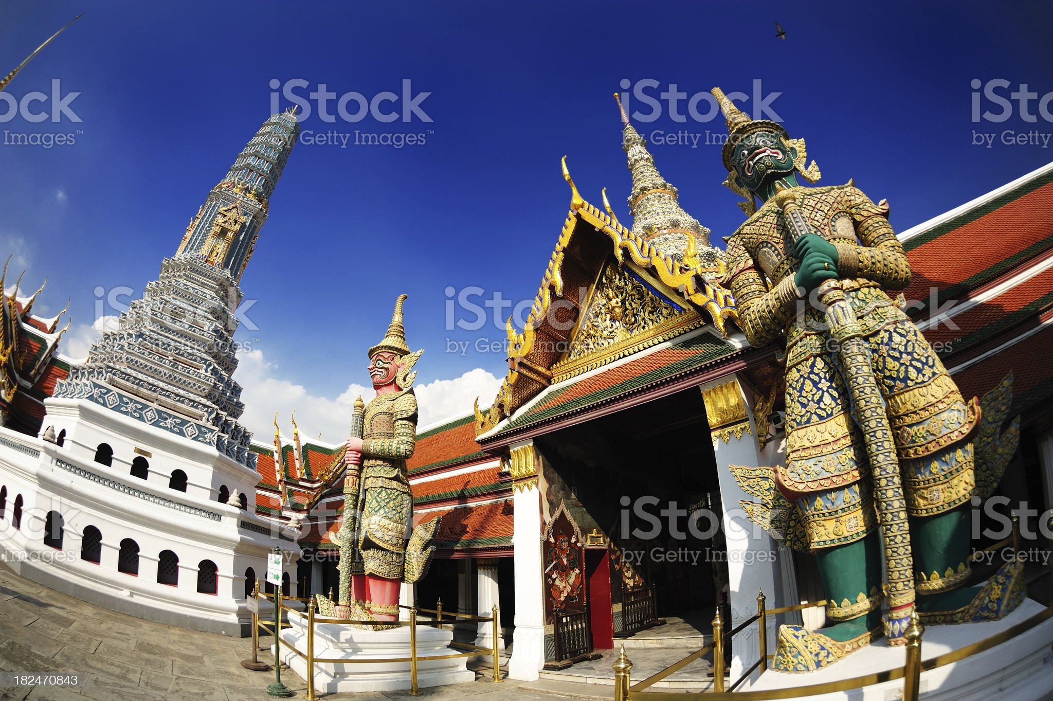 Giant in Wat phra kaew royalty-free stock photo