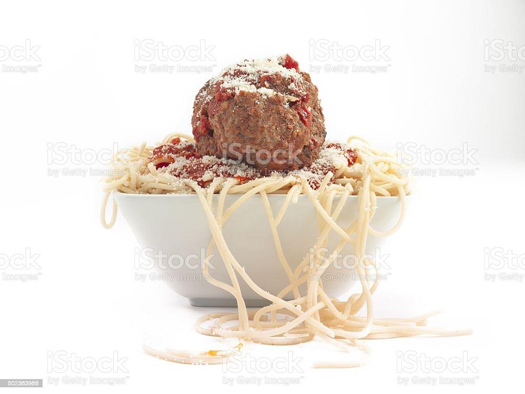 giant meatball stock photo