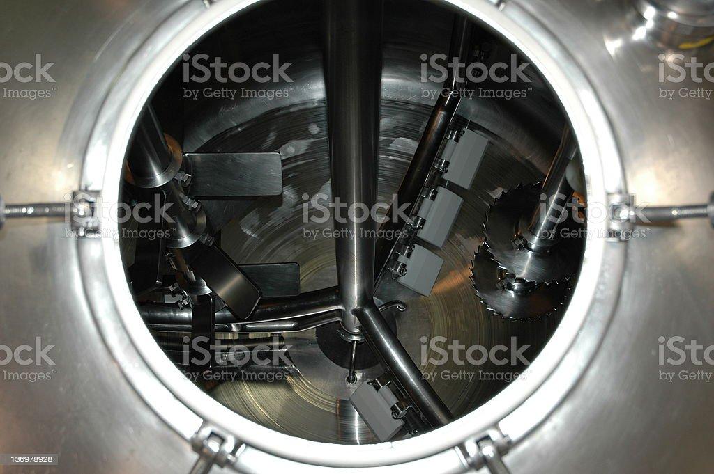 Giant mixer stock photo
