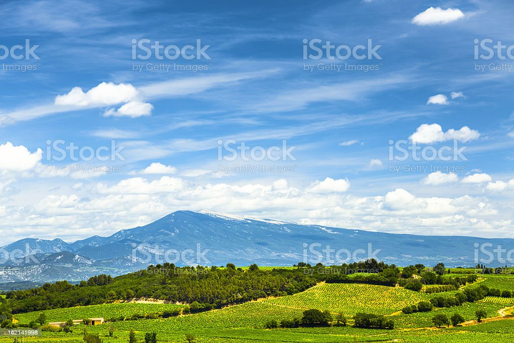Giant of Provence stock photo