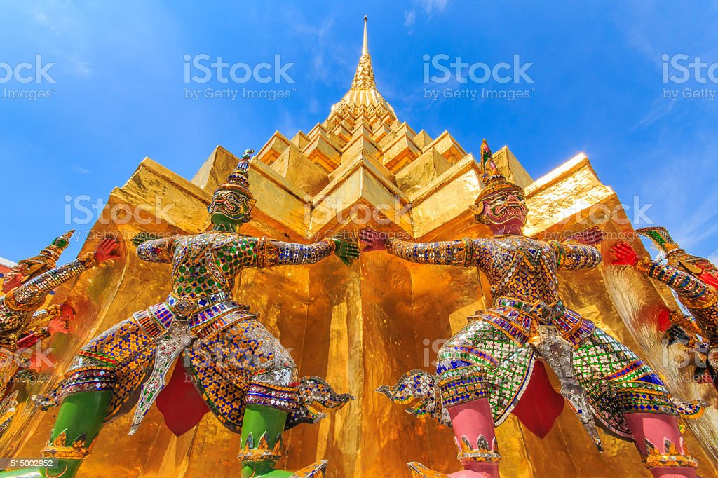 giant pagoda stock photo