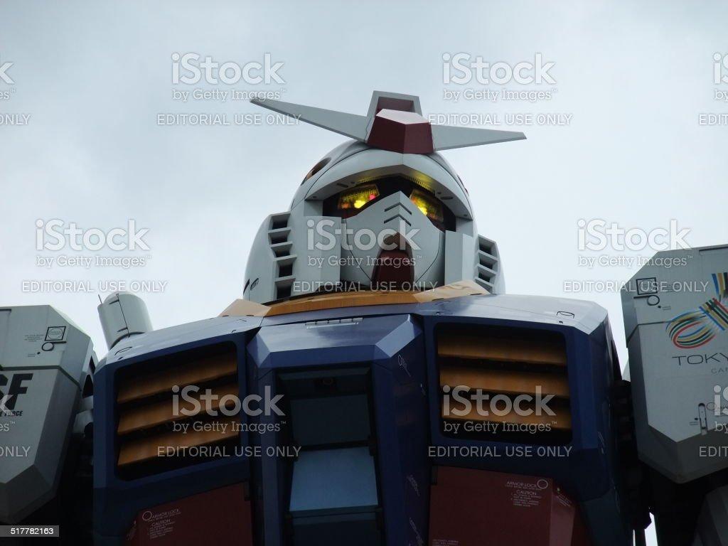 robot Gundam gigante foto de stock libre de derechos
