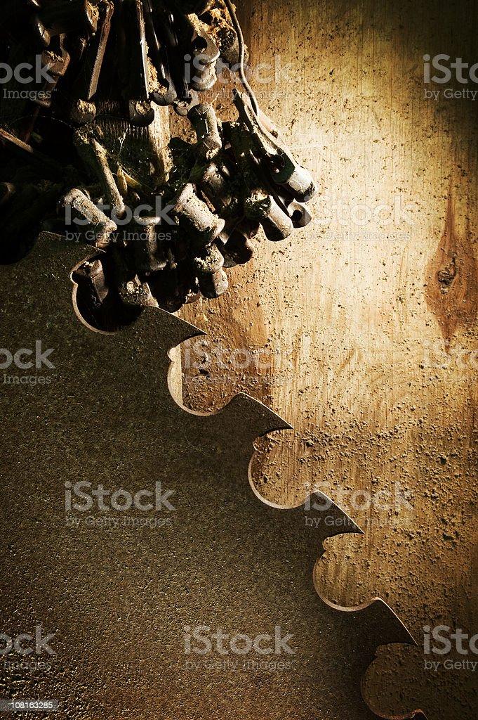 Giant Saw stock photo