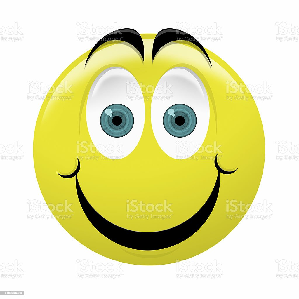 Giant Smiley - Happy royalty-free stock photo