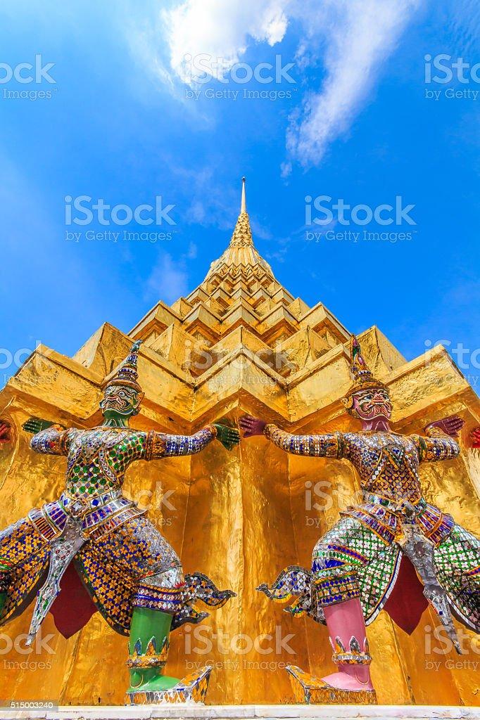 Giant statue Thailand stock photo
