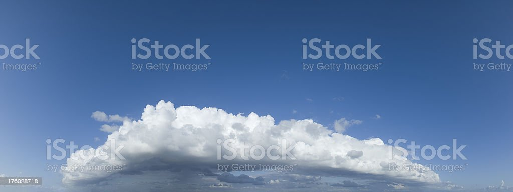 Giant Storm Cloud royalty-free stock photo