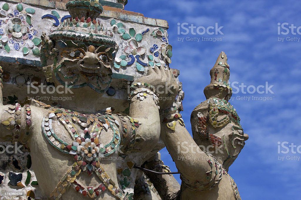 Giant Wat Arun royalty-free stock photo