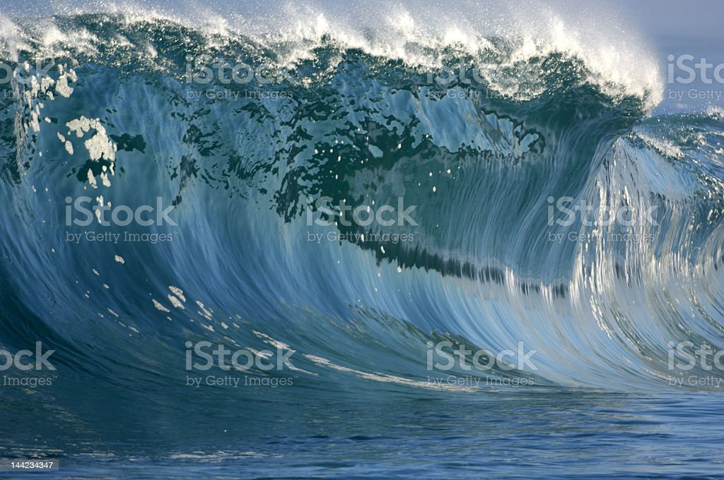 giant wave royalty-free stock photo