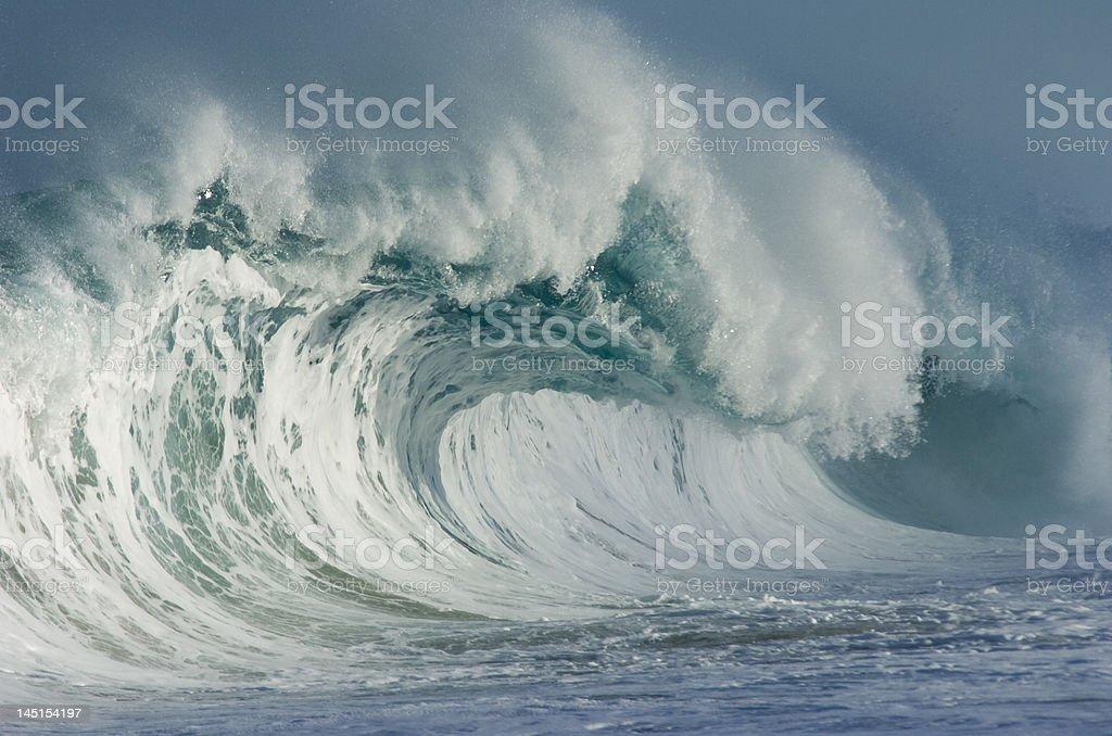 giant wave royalty-free stock photo