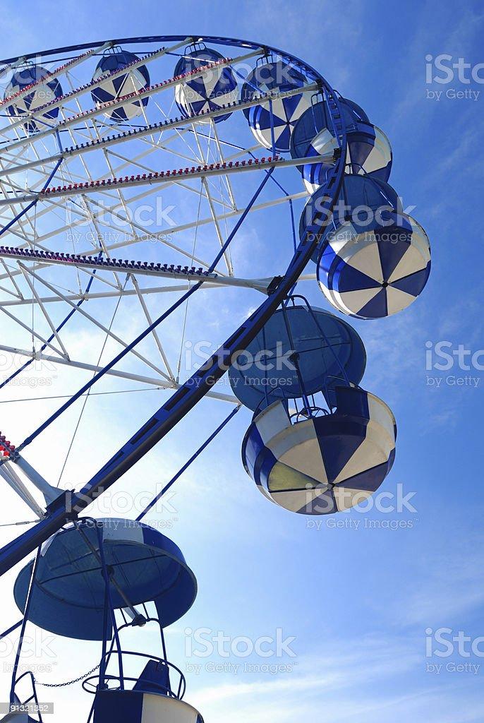 Giant wheel royalty-free stock photo
