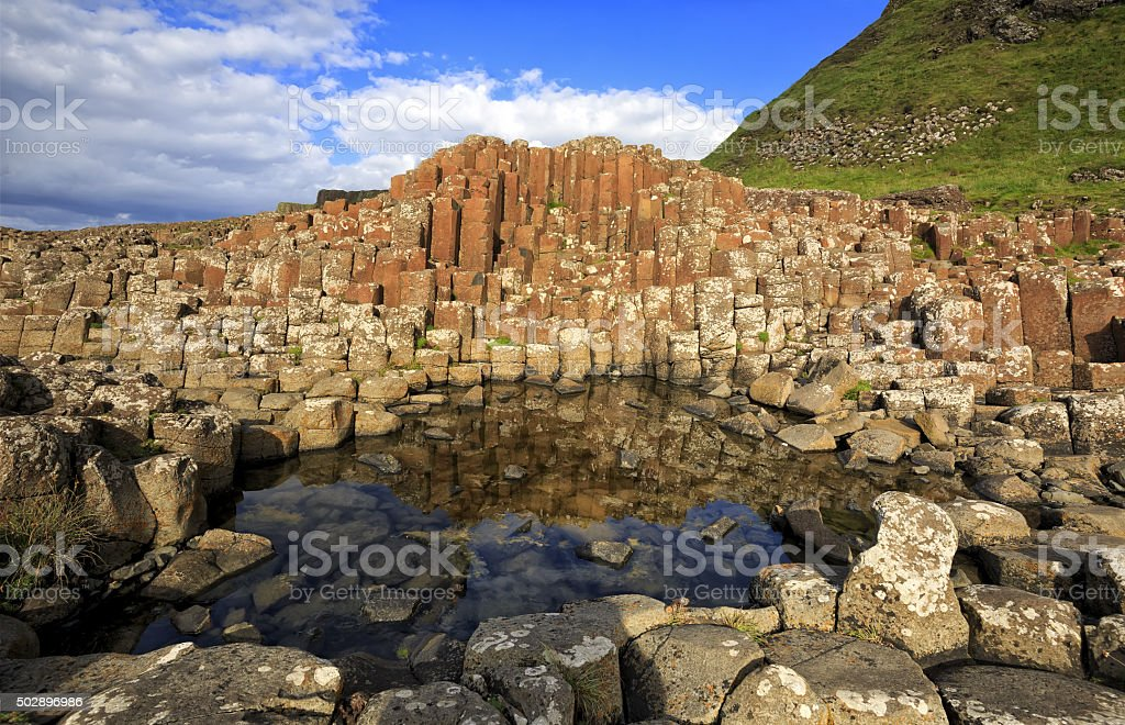 Giant's Causeway, Co. Antrim, Northern Ireland. stock photo