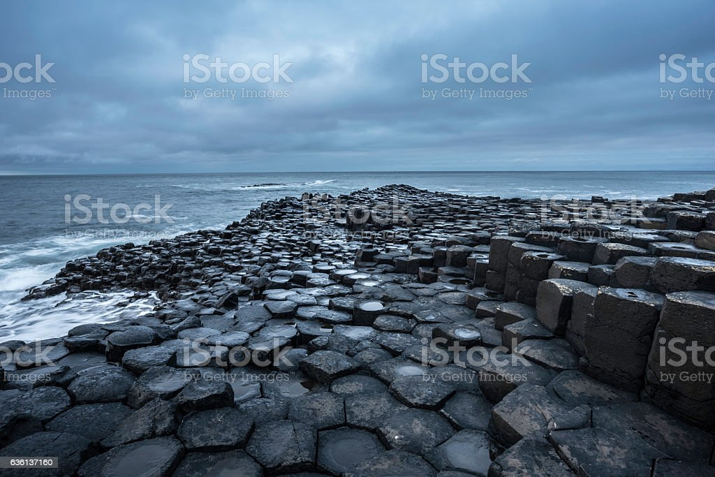 Giant's Causeway, County Antrim, Northern Ireland stock photo