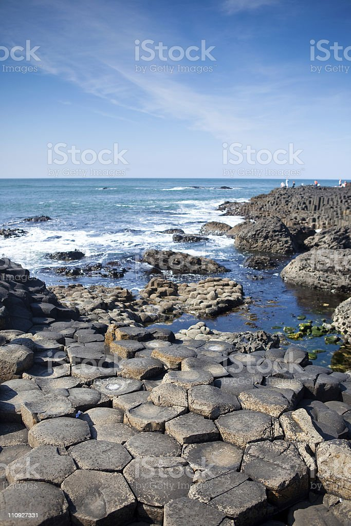 Giant's Causeway in Northen Ireland royalty-free stock photo