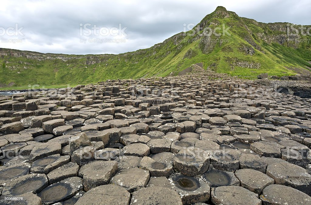 Giant's Causeway - Northern Ireland, Antrim County. stock photo