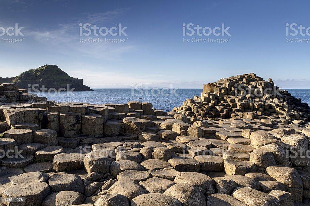 Giant's Causeway, Northern Ireland stock photo