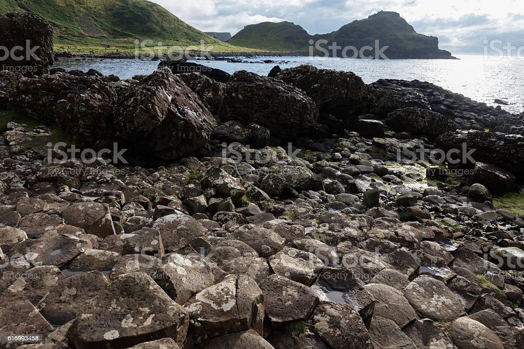 Giants Causeway, Northern Ireland stock photo