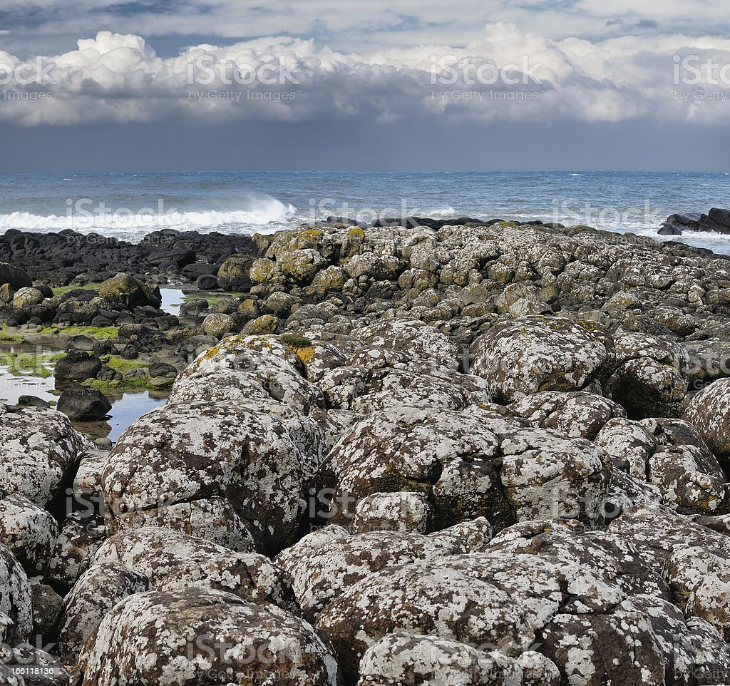 Giant's Causeway royalty-free stock photo