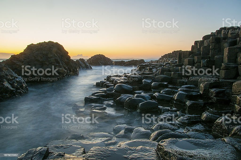Giants Causeway royalty-free stock photo