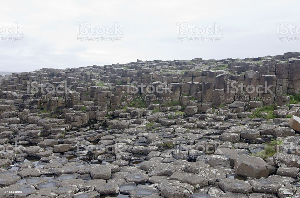 Giant's Causeway (Northern Ireland) royalty-free stock photo