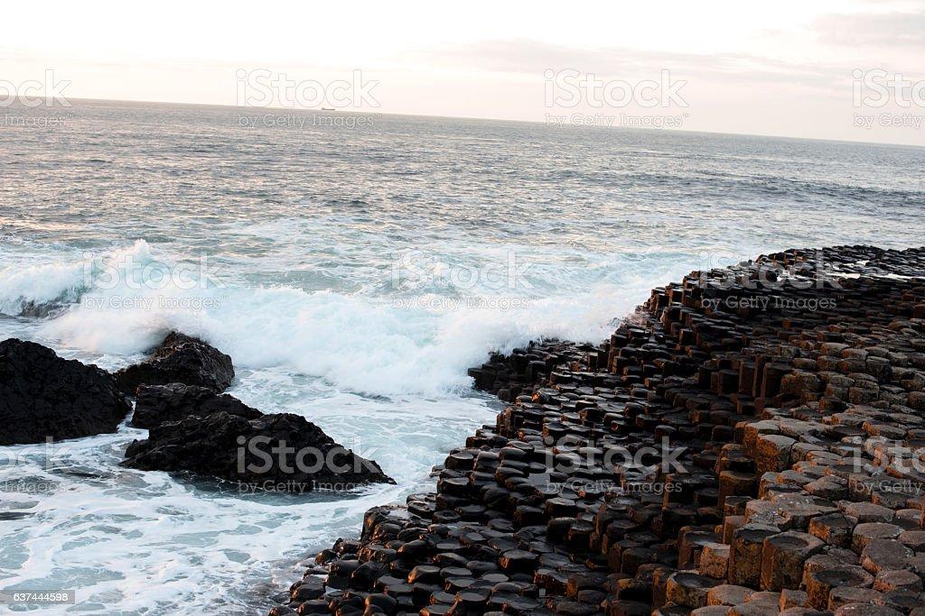 Giant's causeway stock photo