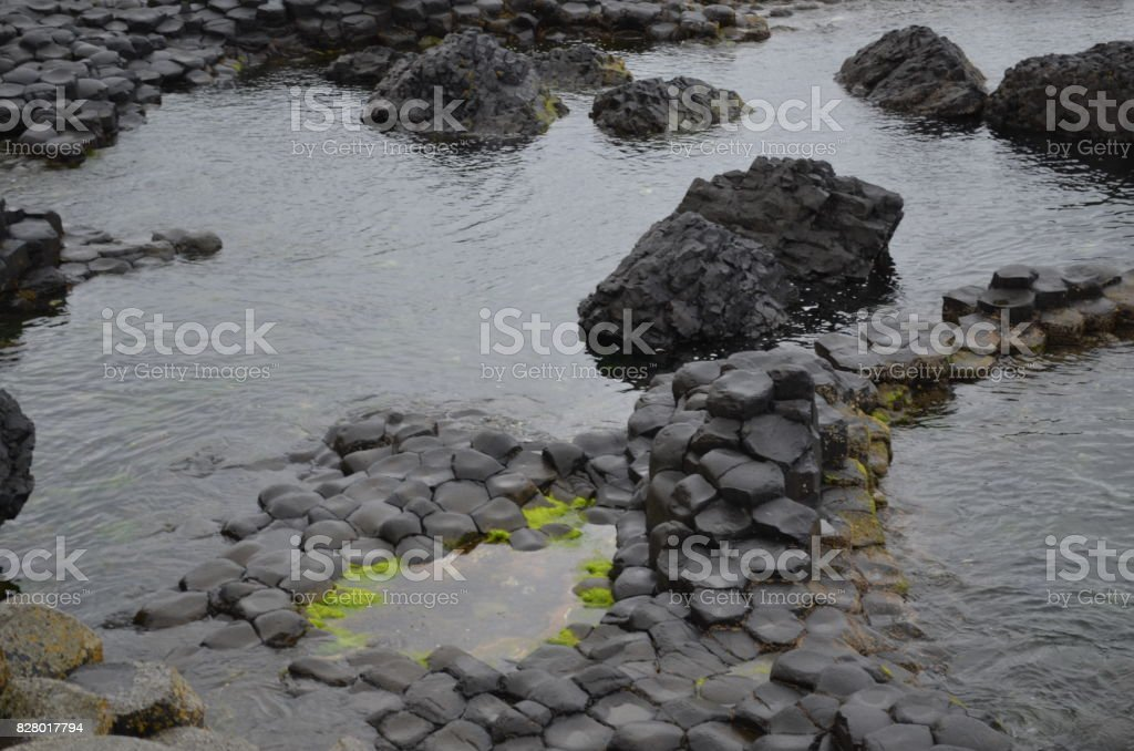 Giants Causeway stock photo