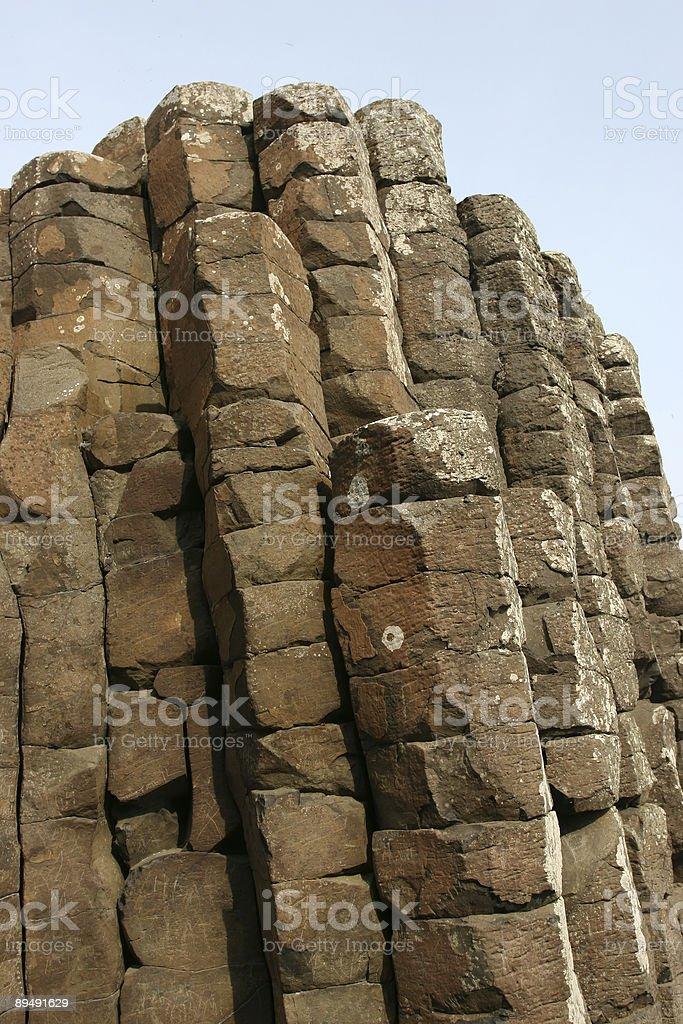 Giant's Causeway royalty-free stock photo