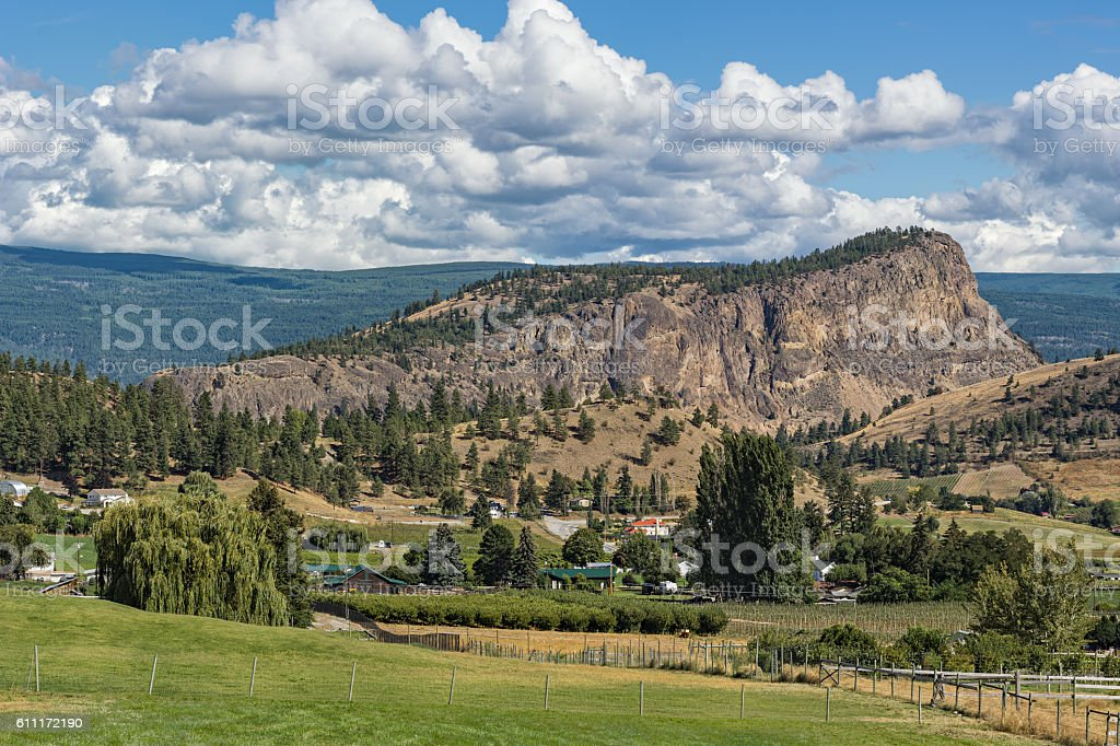Giants Head Mountain near Summerland British Columbia Canada stock photo