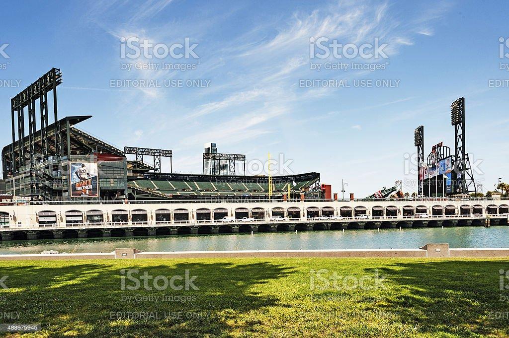 Giants Stadium stock photo