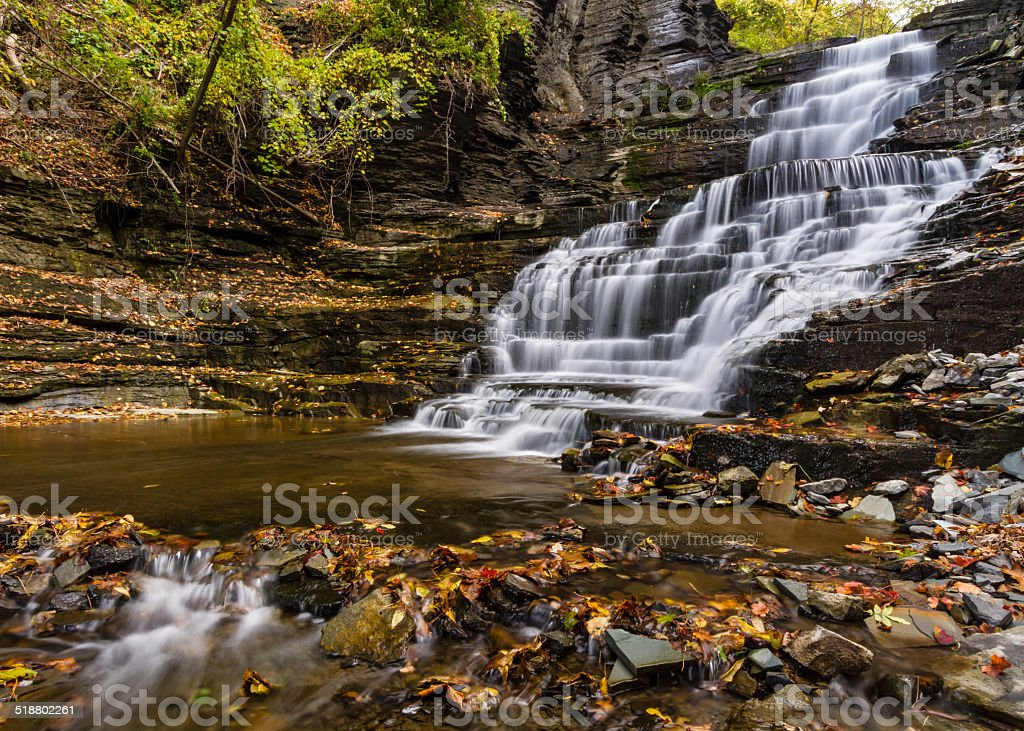 Giant's Staircase Waterfall and Pool stock photo