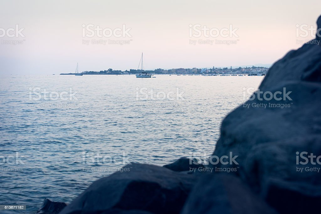 Giardini Naxos stock photo