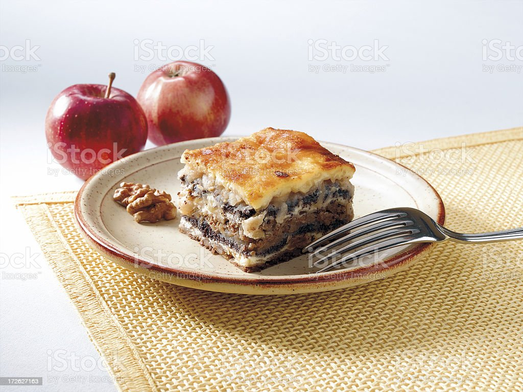 Gibanica cake royalty-free stock photo