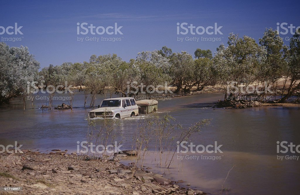 Gibb River Road in The Kimberley stock photo