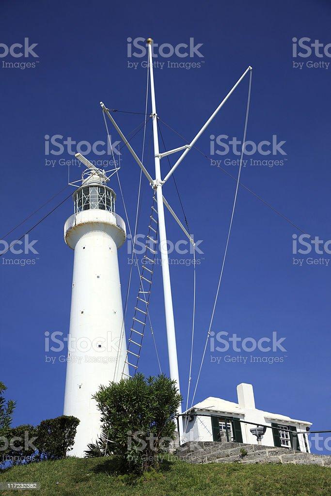 Gibbs Hill Lighthouse, Bermuda stock photo
