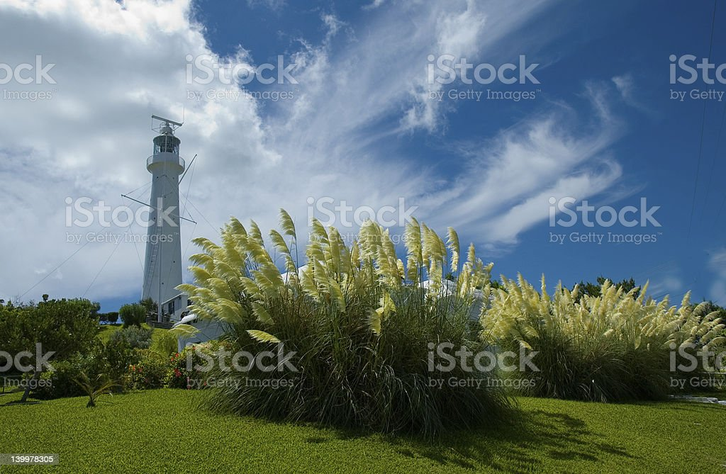 Gibbs Hill Lighthouse stock photo