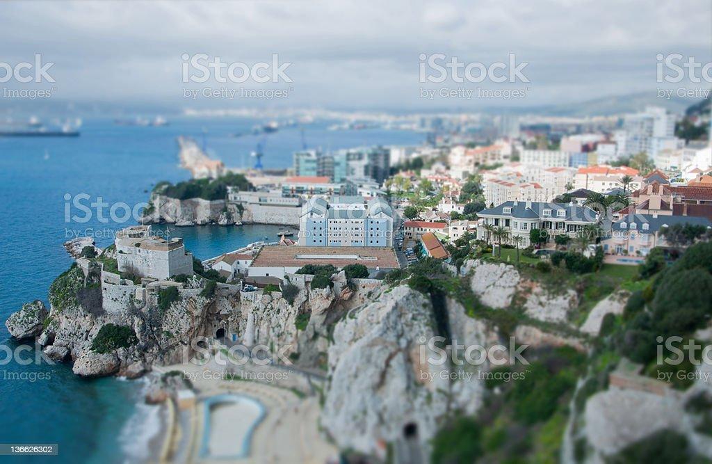 Gibraltar Close Up 3 royalty-free stock photo