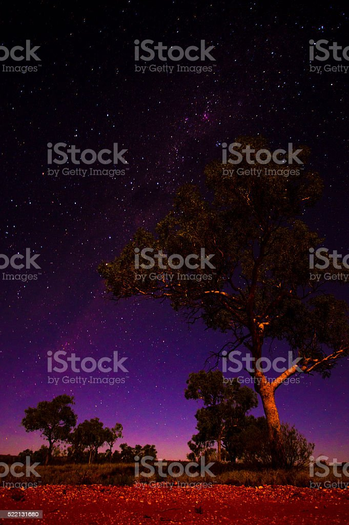 Gibson Desert Nights stock photo