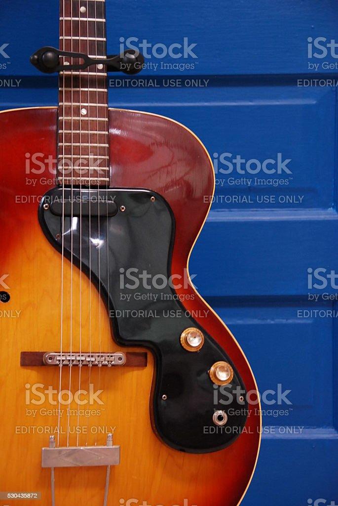 Gibson ES-125T stock photo
