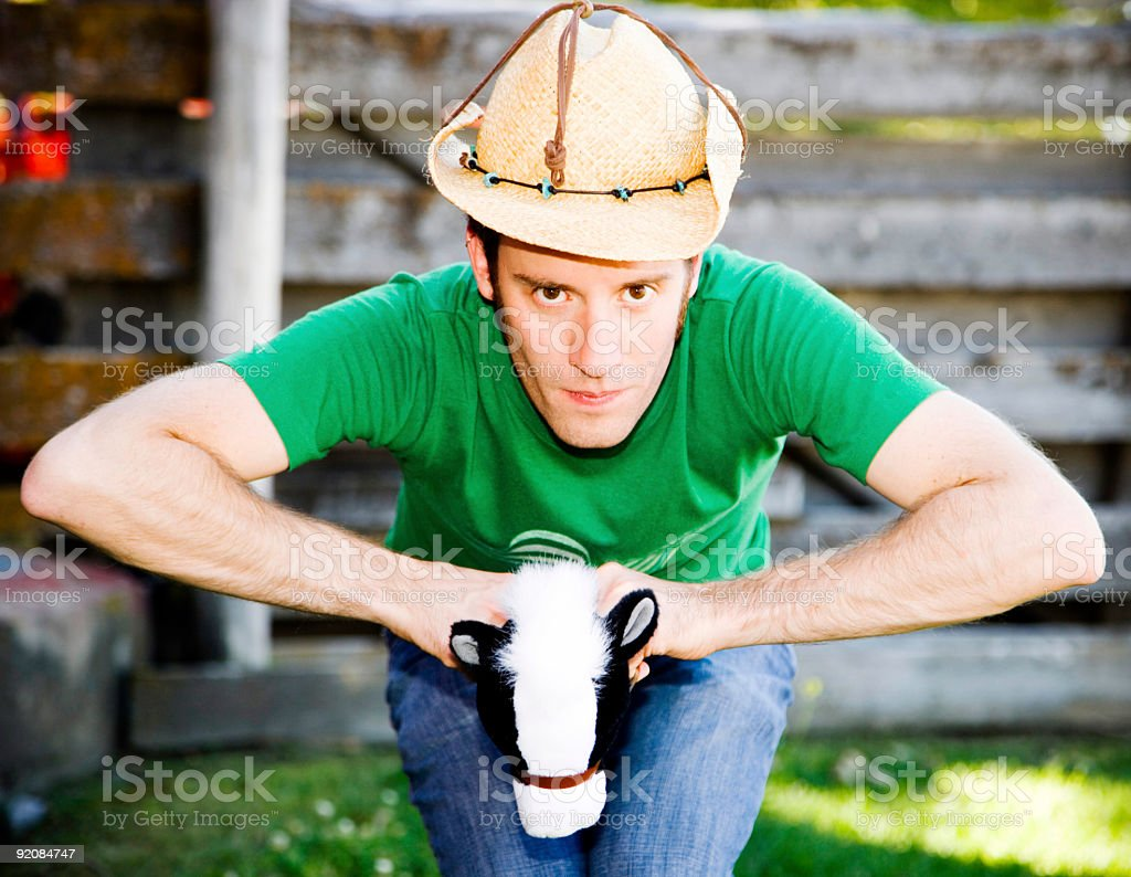 Giddy Up Cowboy... stock photo