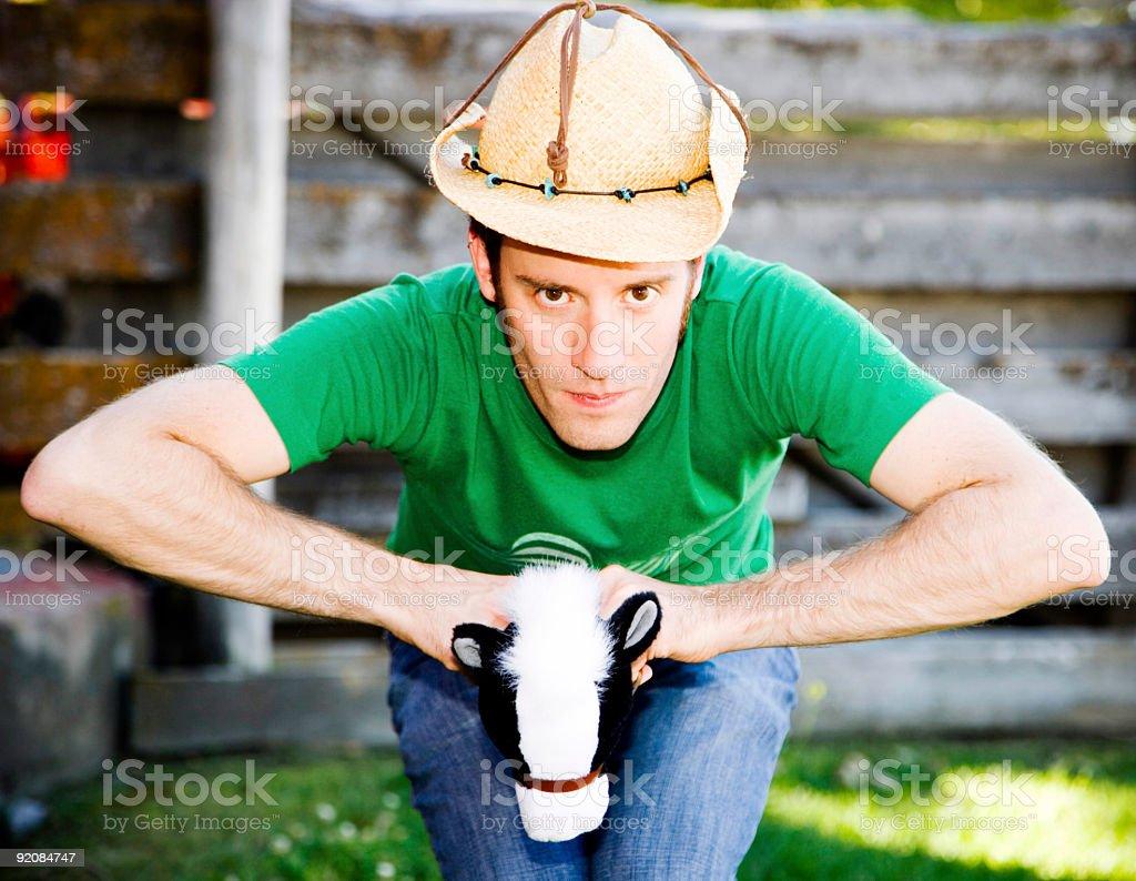 Giddy Up Cowboy... stock photo