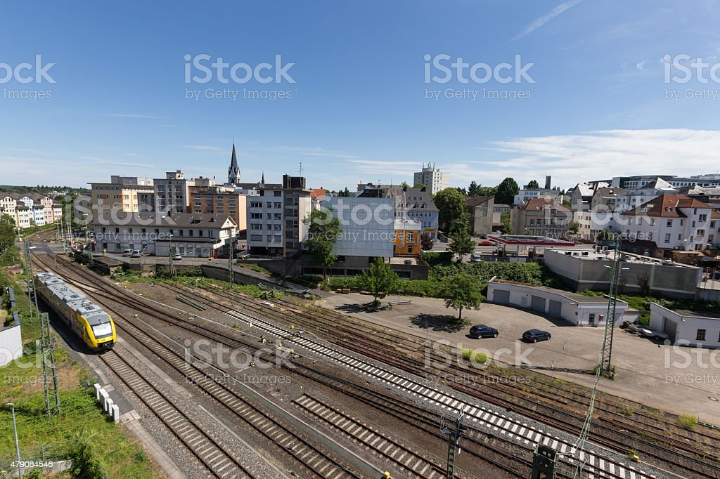 giessen city in germany stock photo