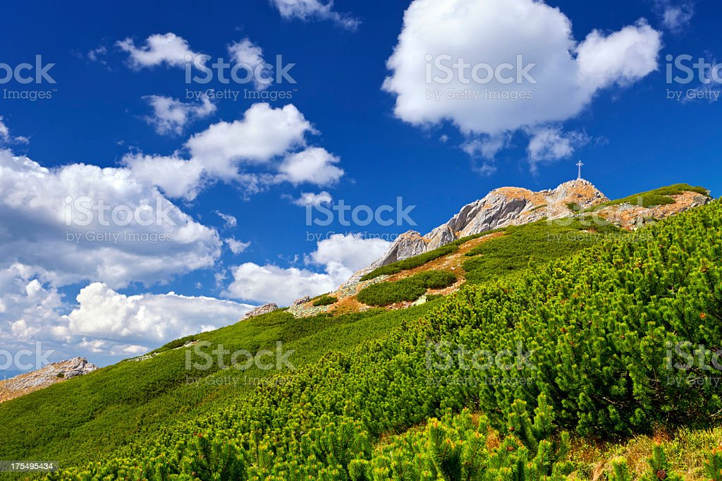 Giewont stock photo