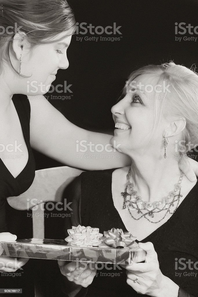 Gift and love! stock photo