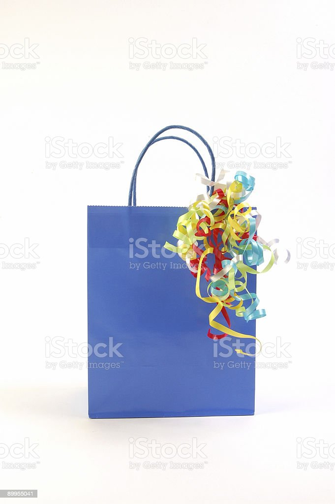 Gift Bag 3 royalty-free stock photo