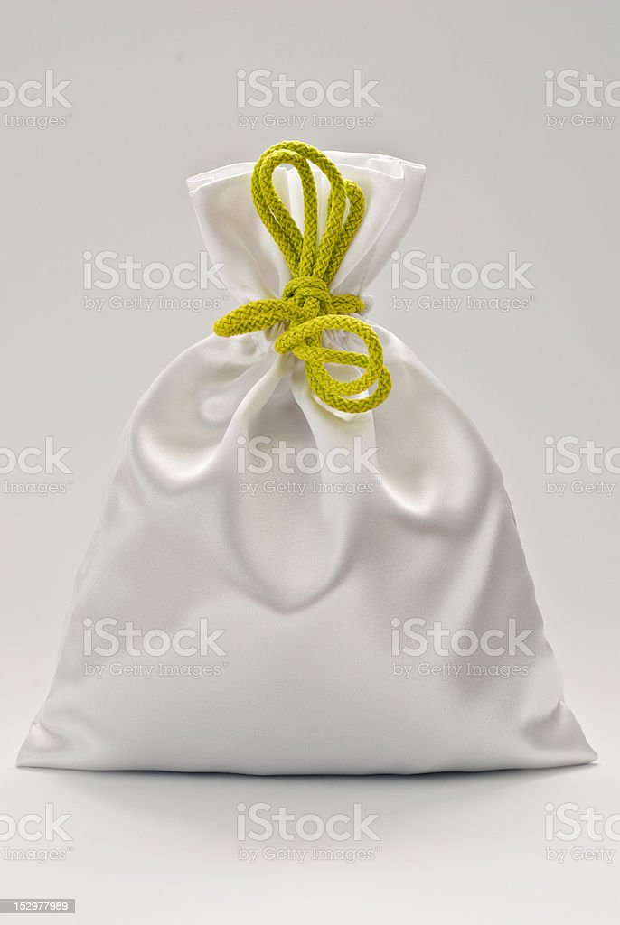 gift bag stock photo