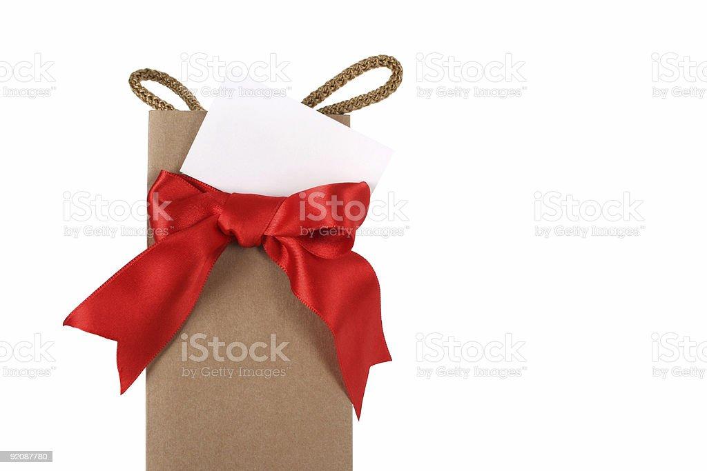 Gift Bag royalty-free stock photo