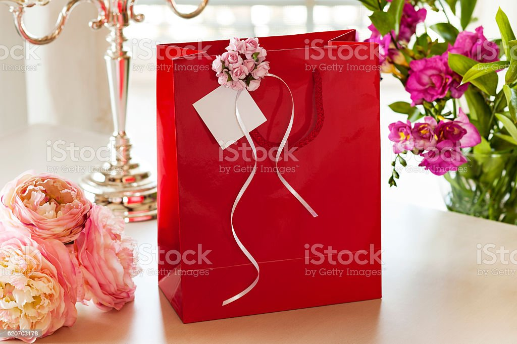Gift Bag,Shopping Bag,label stock photo