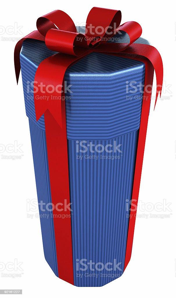 Gift Bottle royalty-free stock photo