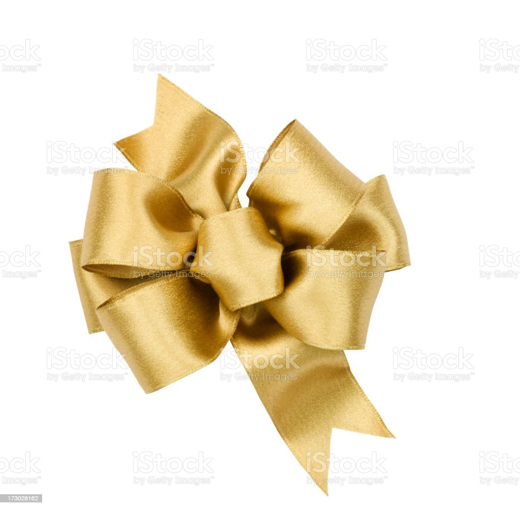 Gift Bow (clipping path) stock photo