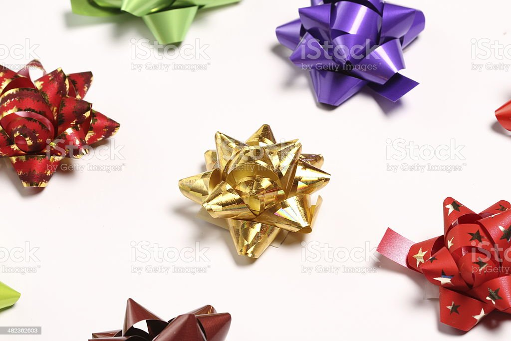 Gift Bow Series stock photo