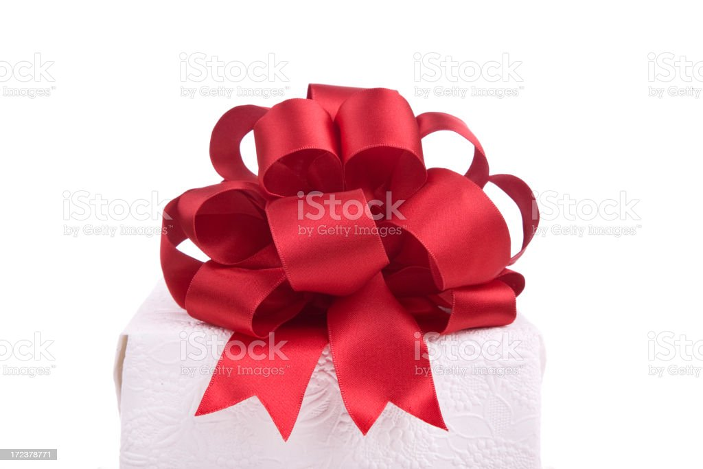 Gift Bow (WITH CLIPPING PATH! (XL) royalty-free stock photo